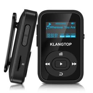 KLANTOP MP3 Wireless 8GB Bluetooth Player