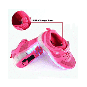 Tuko Rechargeable LED Skate Shoe for Girls