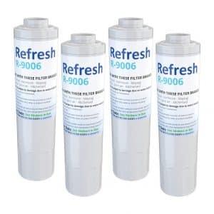 Refresh Whirlpool Refrigerator Water Filters 4-Pack
