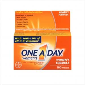 One-A-Day Women's Multivitamin Tablets
