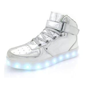 APTESOL Flashing USB Rechargeable Sneakers Shoe Wheels