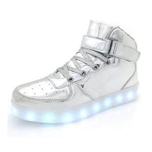 APTESOL Flashing USB Rechargeable Sneakers Shoe Wheels