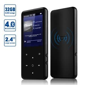 Alptory MP3 Player 32 GB Bluetooth 4.0