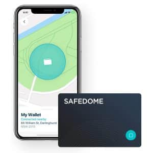 Safedome Classic Bluetooth Lost Item Tracker Card