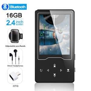 HOCOMO MP3/MP4 16GB Bluetooth Player