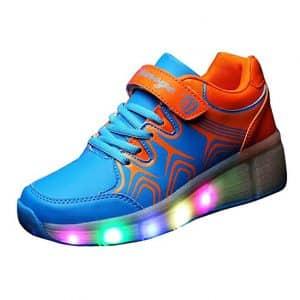 Gaorui Christmas Kid Girl Boy Rollers Shoes