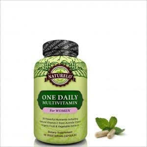 Naturelo One Daily Women's Multivitamin Capsules