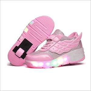 YCOMI Girl's Boy's LED rollers Shoes with Wheels
