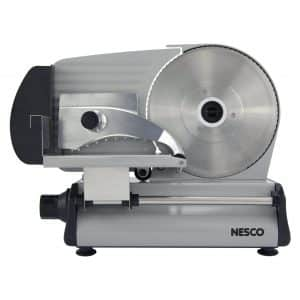 "NESCO FS-250 8.7"", Silver Stainless Steel Food Slicer"