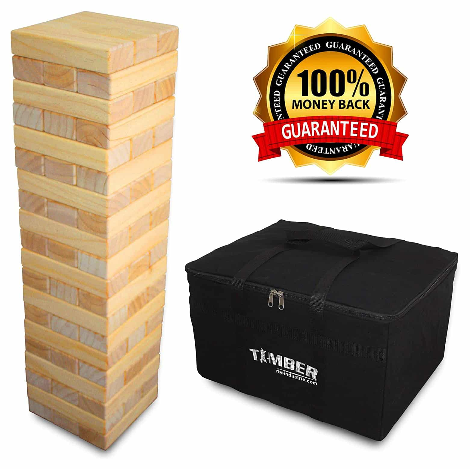 TIMBER Jumbo Size Wood Game