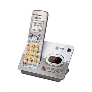 ATT ATTEL52103 Radio2.4 Ghz Frequency Two Handset 2-Line Landline Telephone