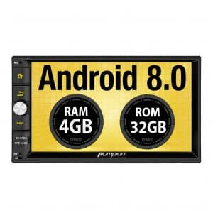 PUMPKIN Android 8.0 Car Stereo Double Din