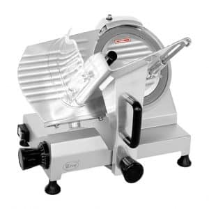 "Zica 10"" Chrome-plated Blade Electric Meat and Food Slicer"