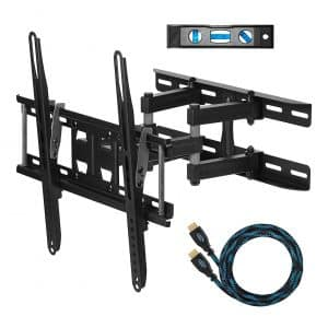 Cheetah APDAM3B Dual Arm TV Wall Mount Bracket