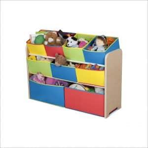 Delta Children Multi-Color Deluxe Toy Organizer