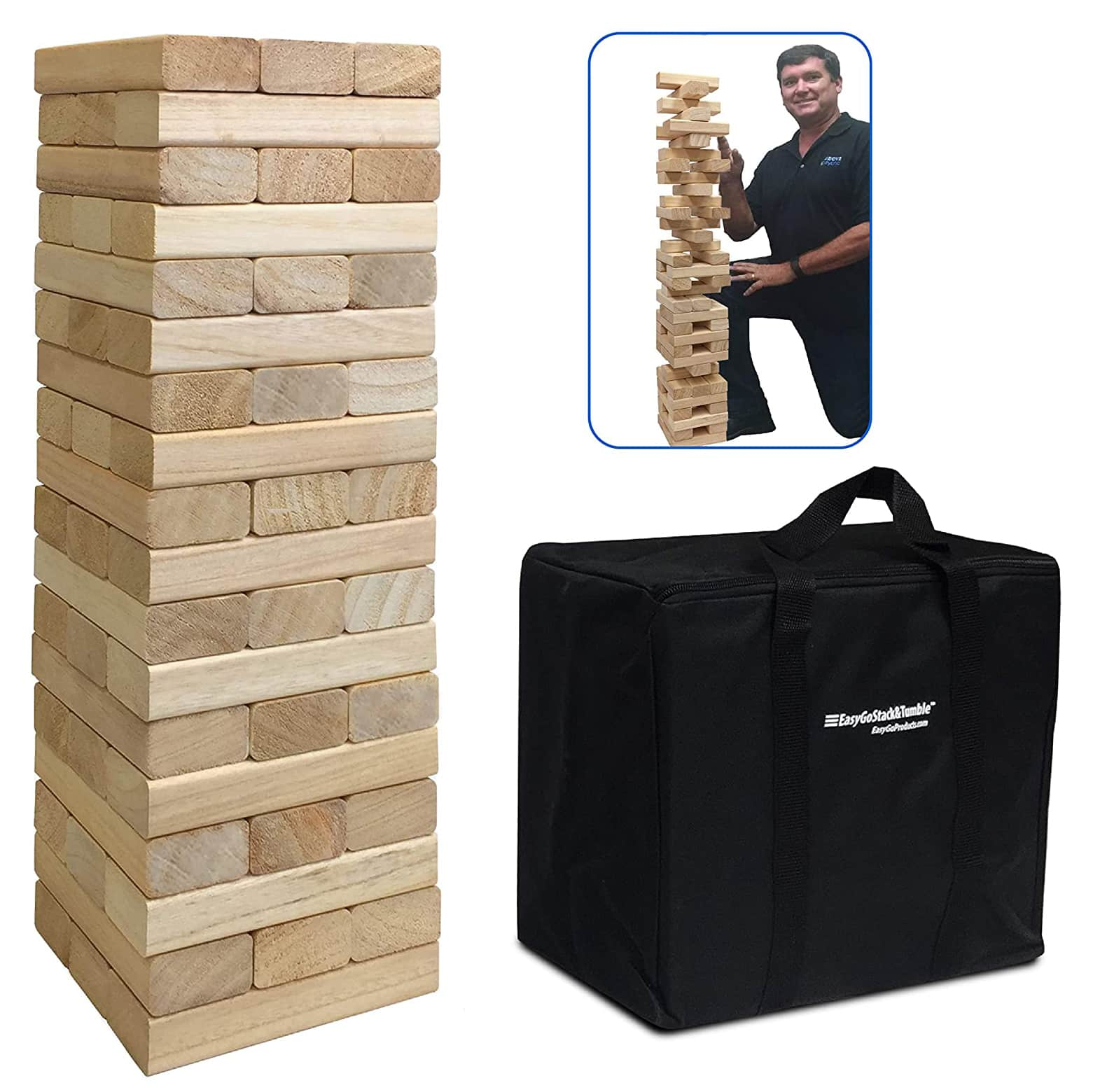 EasyGoProducts Tumble Tower Game