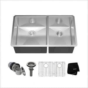 Kraus KHU103-33 Stainless Steel Kitchen Sink