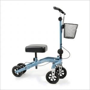Swivelmate knee walker/scooter