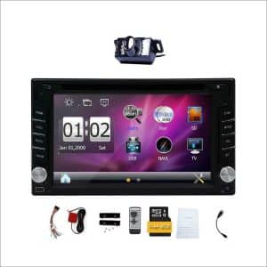 Upgrade Version with Camera Double Din Android Car Stereo System