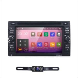 6.2-Inch Android 7.1 Double Din in Dash Car Stereo with Bluetooth Wi-Fi