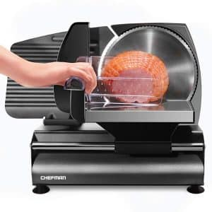Chefman Die-Cast Safe Electric Meat & Food Slicer