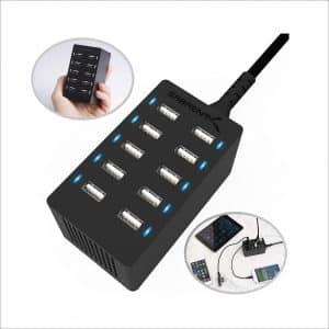 Sabrent 10-Port USB charging station
