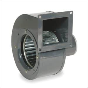 Blower 273 cfm, 115V Squirrel Cage Fan
