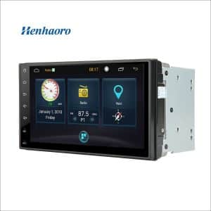 Henhaoro 7-Inch Android Car StereoGps Navigation Touch Screen