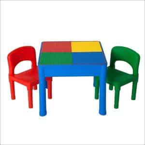 Kids Activity Table Set - 3 in 1 Water Table, Craft Table