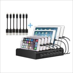 Kisreal USB Charging StationSmart 7-Port