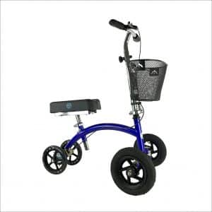 KneeRover HYBRID Knee Scooter with All Terrain Front Axle