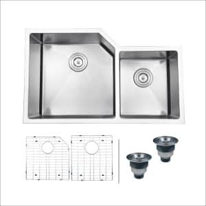 Ruvati RVH8150 Undermount Double Bowl Sink