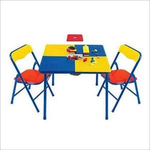 Toys R Us Sturdy steel construction Building Block Table