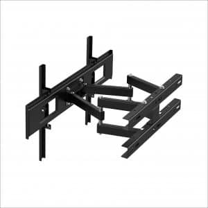1homefurnit Corner Full Motion TV Bracket Cantilever Double-Arms Wall Mount
