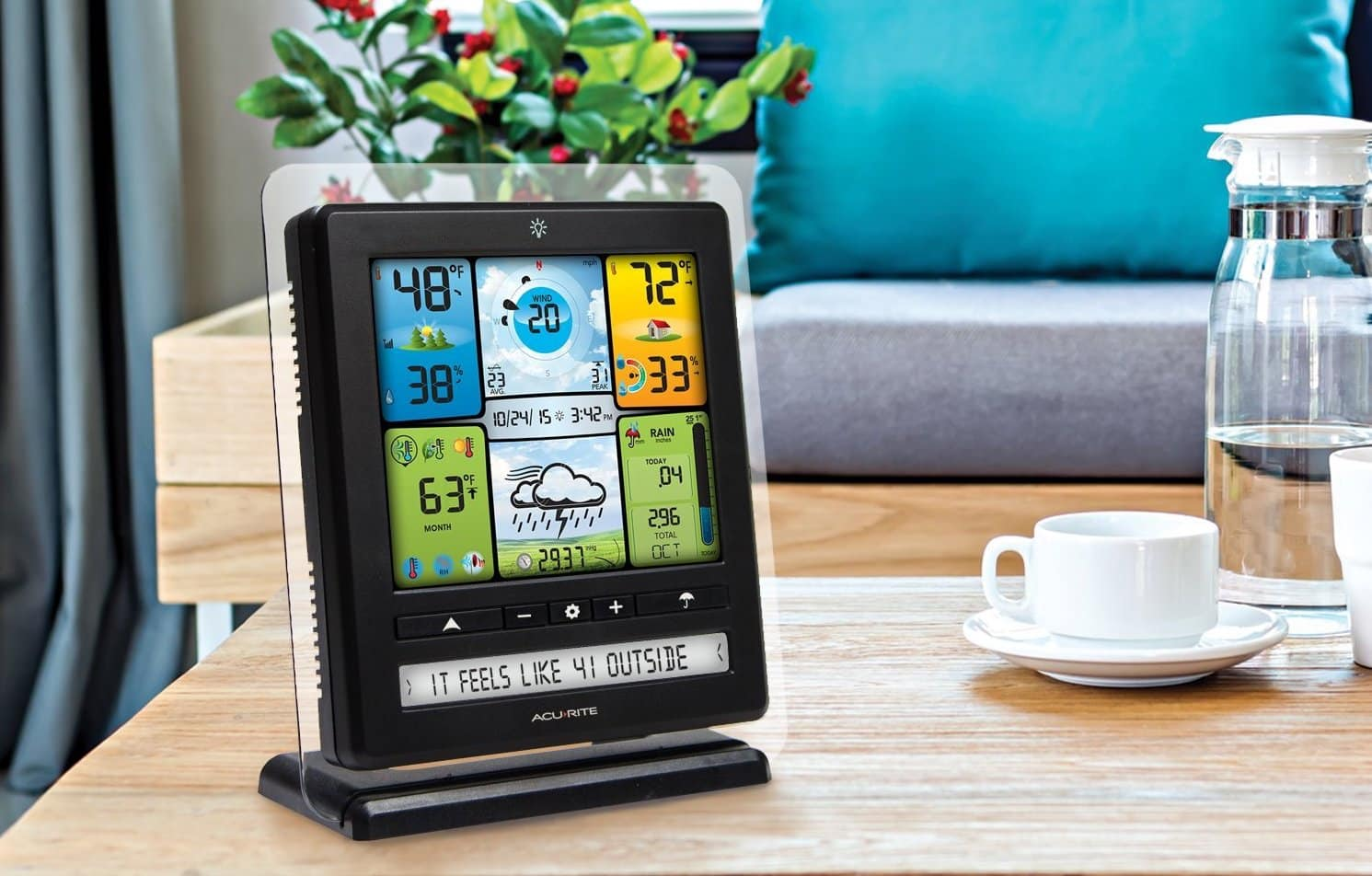 b8bfadda9 Top 10 Best Wireless Weather Station in 2019 - Top Best Product Reviews