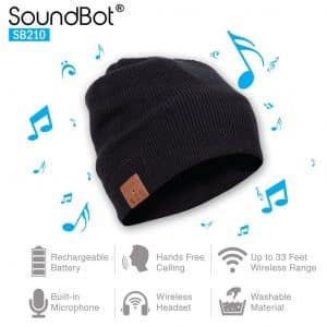 SoundBot¨ Wireless Musical Smart Knit Beanie with Bluetooth 4.1 Headset