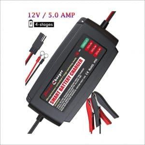 BMK 12V 5Amp Fully Automatic Battery Charger