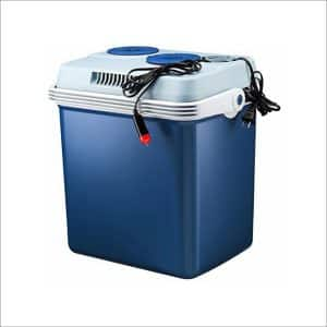 Knox 27 Quart Electric Car Refrigerator Cooler and Food Warmer