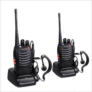 Proster 16-Channel Walkie Talkies Plus Ear-Piece