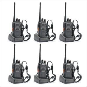 BaoFeng BF-888S 6-Pack Walkie Talkies