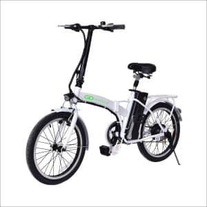"""Goplus 20"""" 250W Folding Electric Bike Sports"""