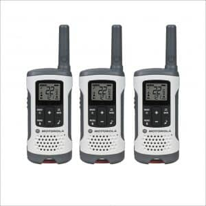 Motorola T260TP 3-Pack Walkie Talkies
