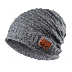 Pococina Upgraded Wireless 4.2 Bluetooth Knit Beanie Hat
