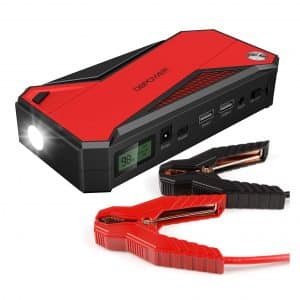 DBPOWER 600A Peak 18000mAh Portable Car Jump Starter