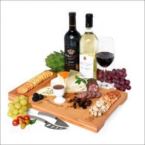 Royal Craft Wood Thick Bamboo Cheese Board