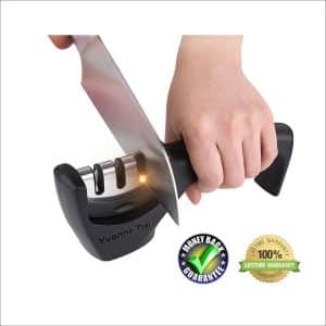 Yvonne Tsai 3-Stage Knife Sharpener
