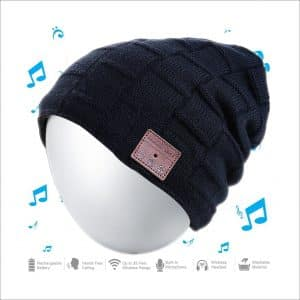 Moretek Wireless Bluetooth Hat Beanie Music Cap