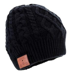 Tenergy Wireless Bluetooth Fleece-lined Unisex Beanie Hat