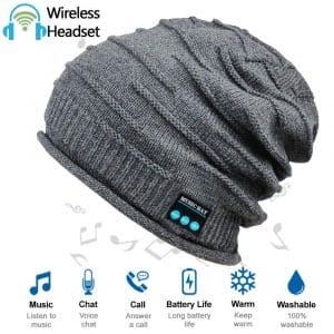 HighTechLife Wireless Upgraded Bluetooth V4.2 Beanie Hat