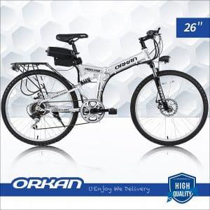 ORKAN Folding E-Bike 7 Speeds Folding Electric Bike 250W